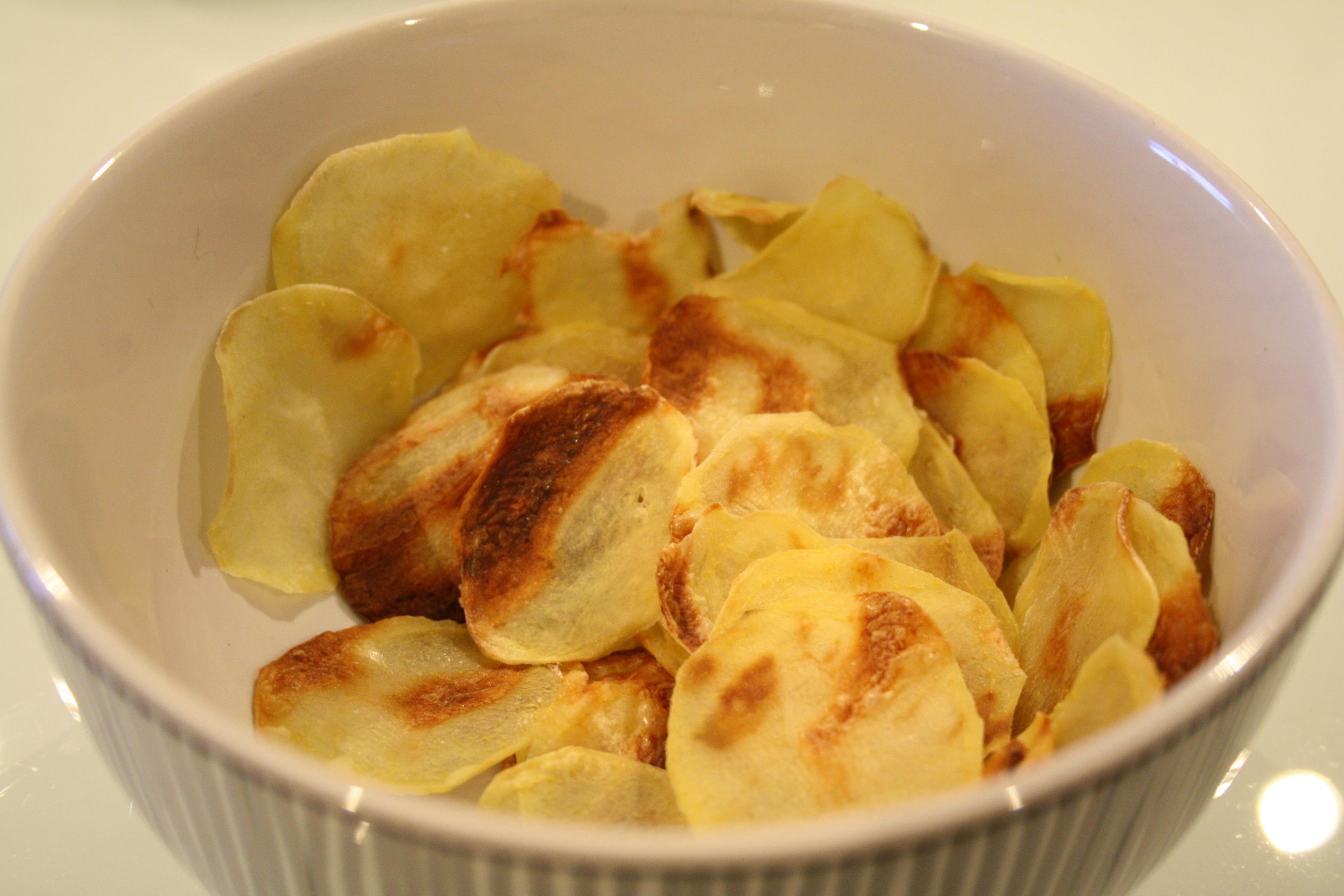 Chips Maison sans huile