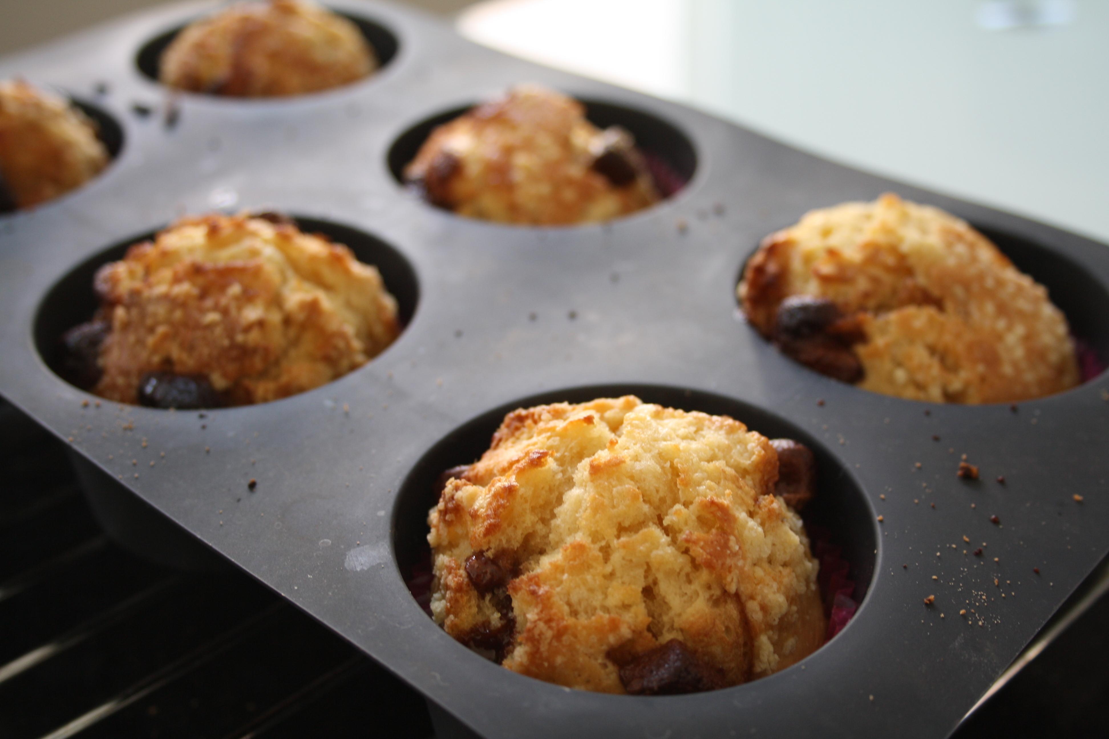 Muffins Chocolat Vanille - Mathilde et Gourmandises