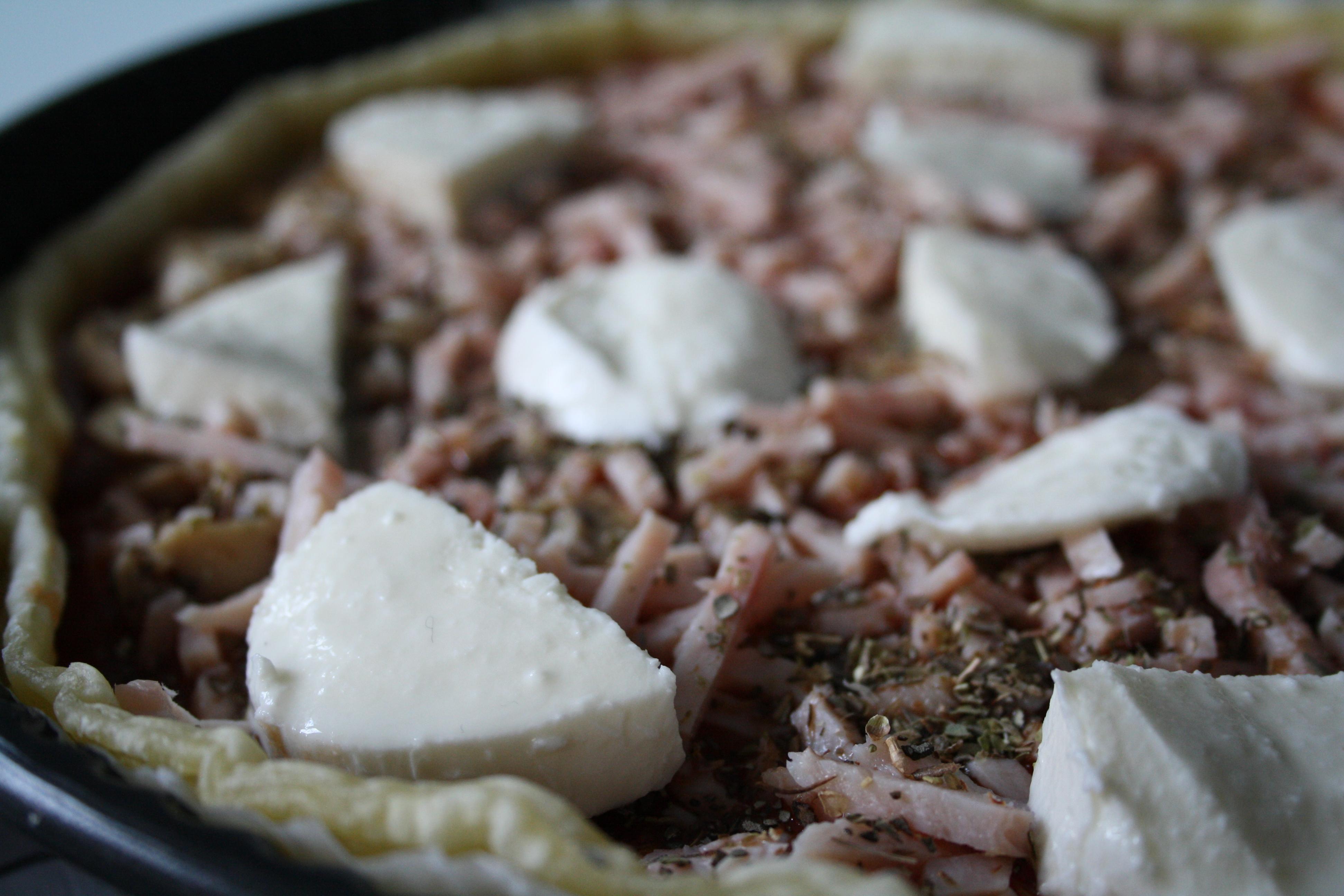 Tarte Jambon Tomate Champignons - Mathilde et Gourmandises