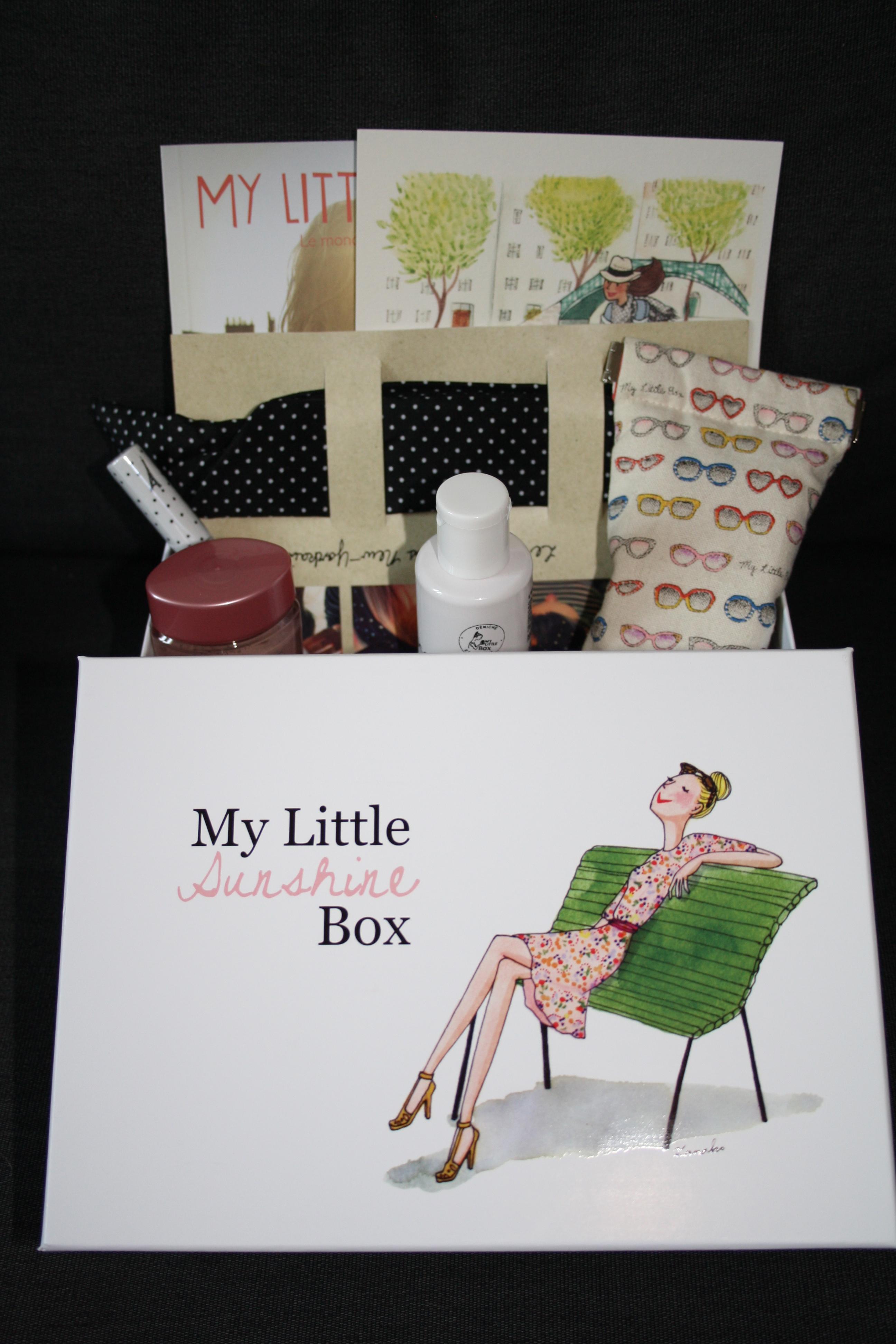 My Little SUNSHINE Box - Mathilde et Gourmandises