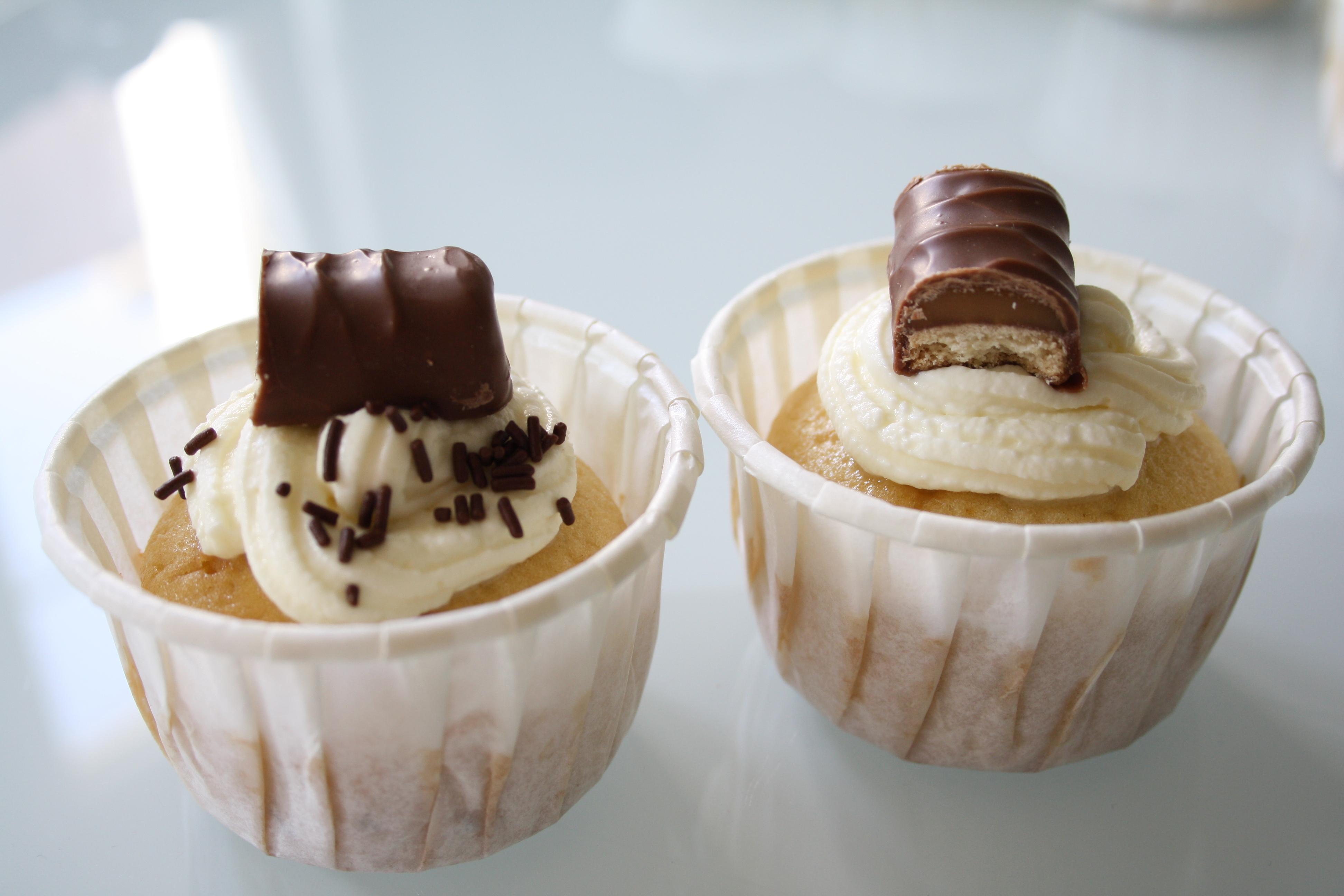 Cupcakes Twix - Mathilde et Gourmandises