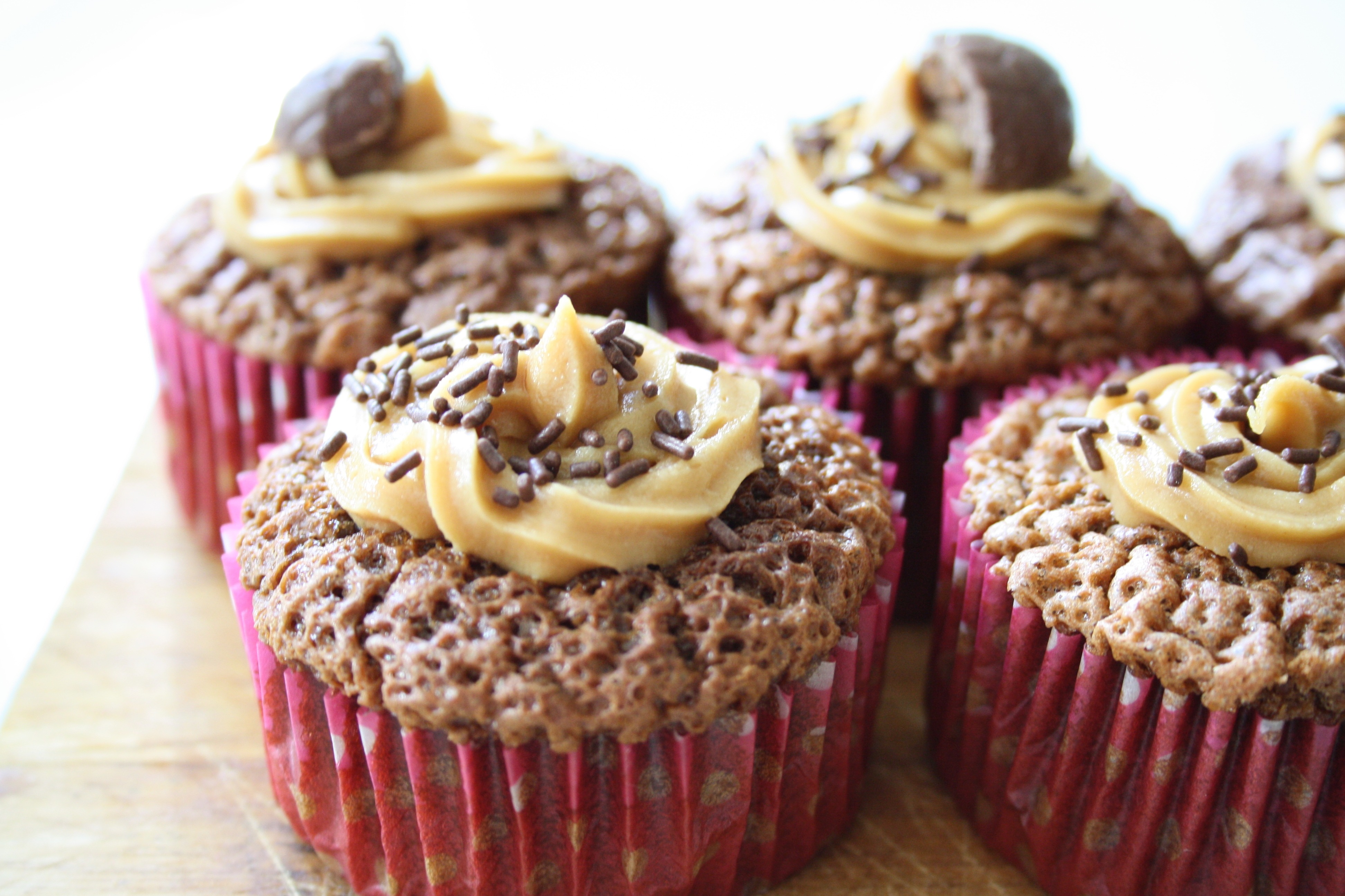 Cupcake Chocolat Cacahuètes - Mathilde et Gourmandises