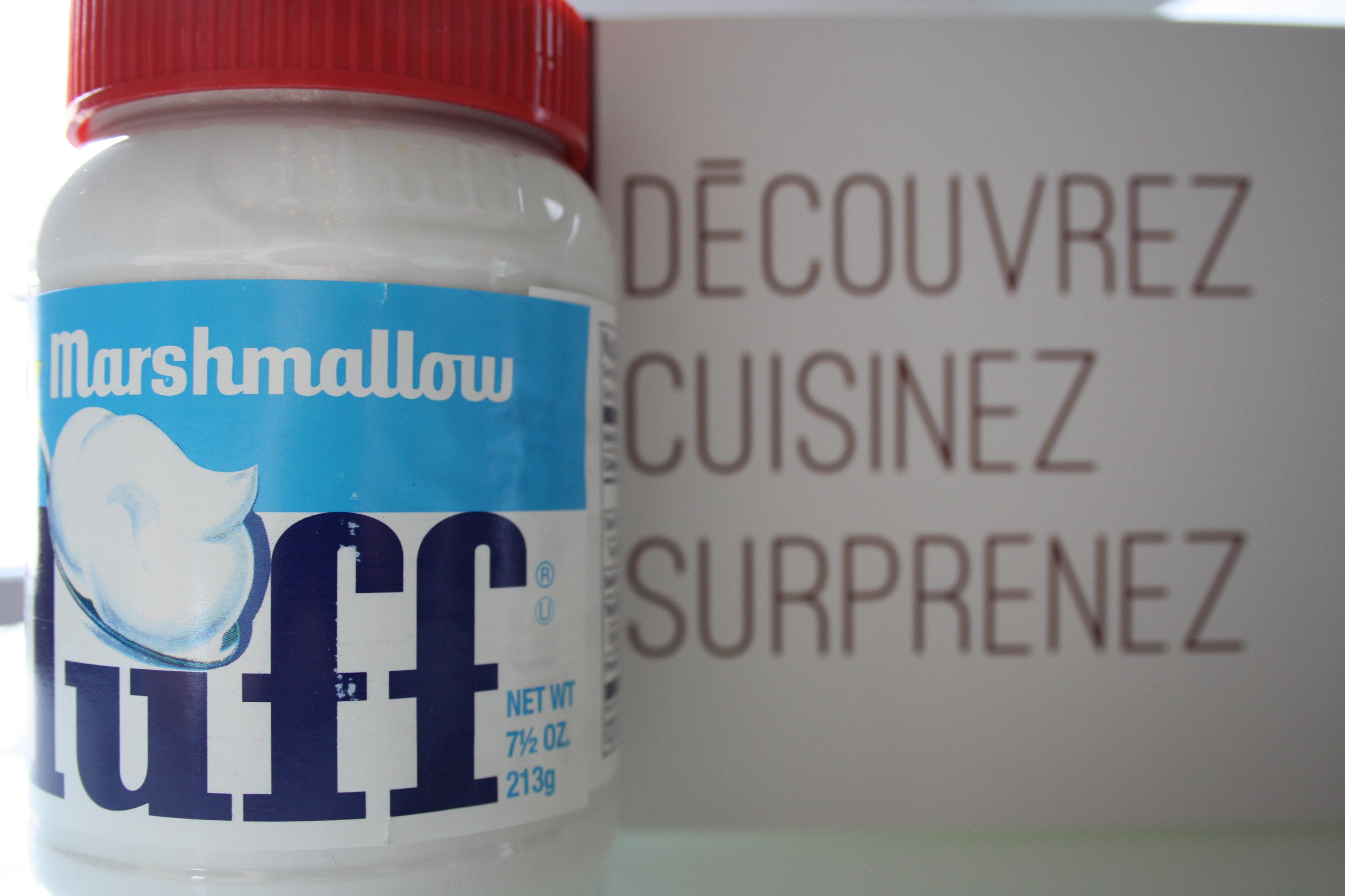 Fluff : une crème de Marshmallow