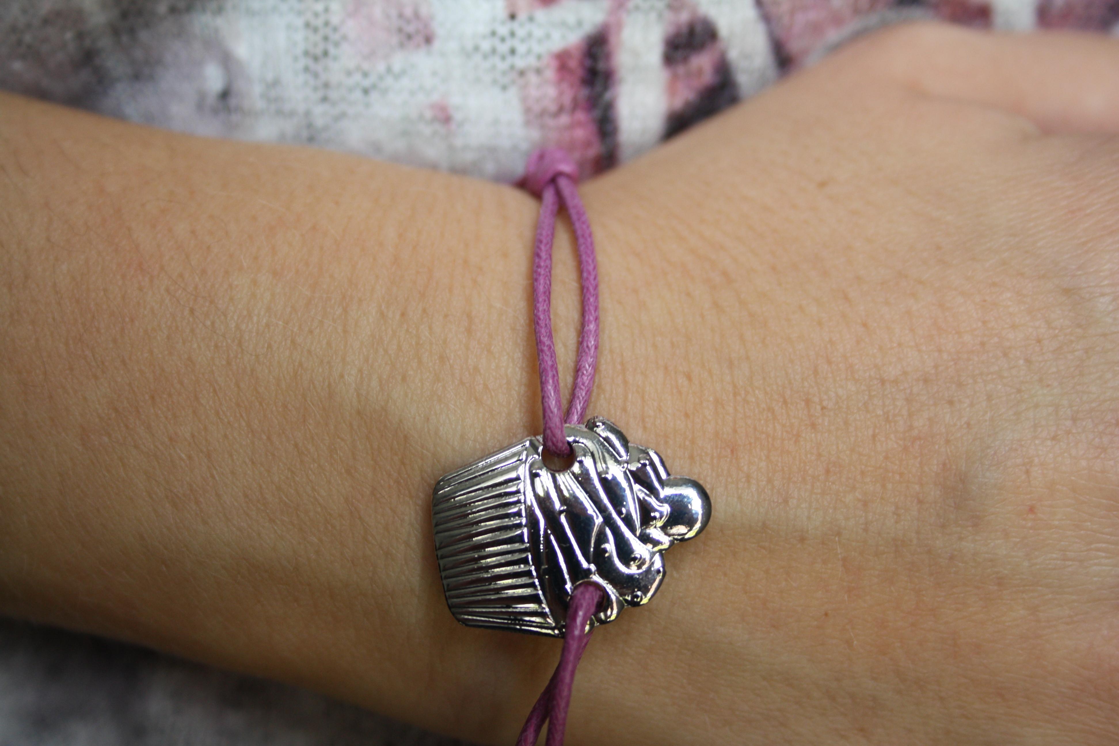 La surprise du mois : un bracelet cupcake