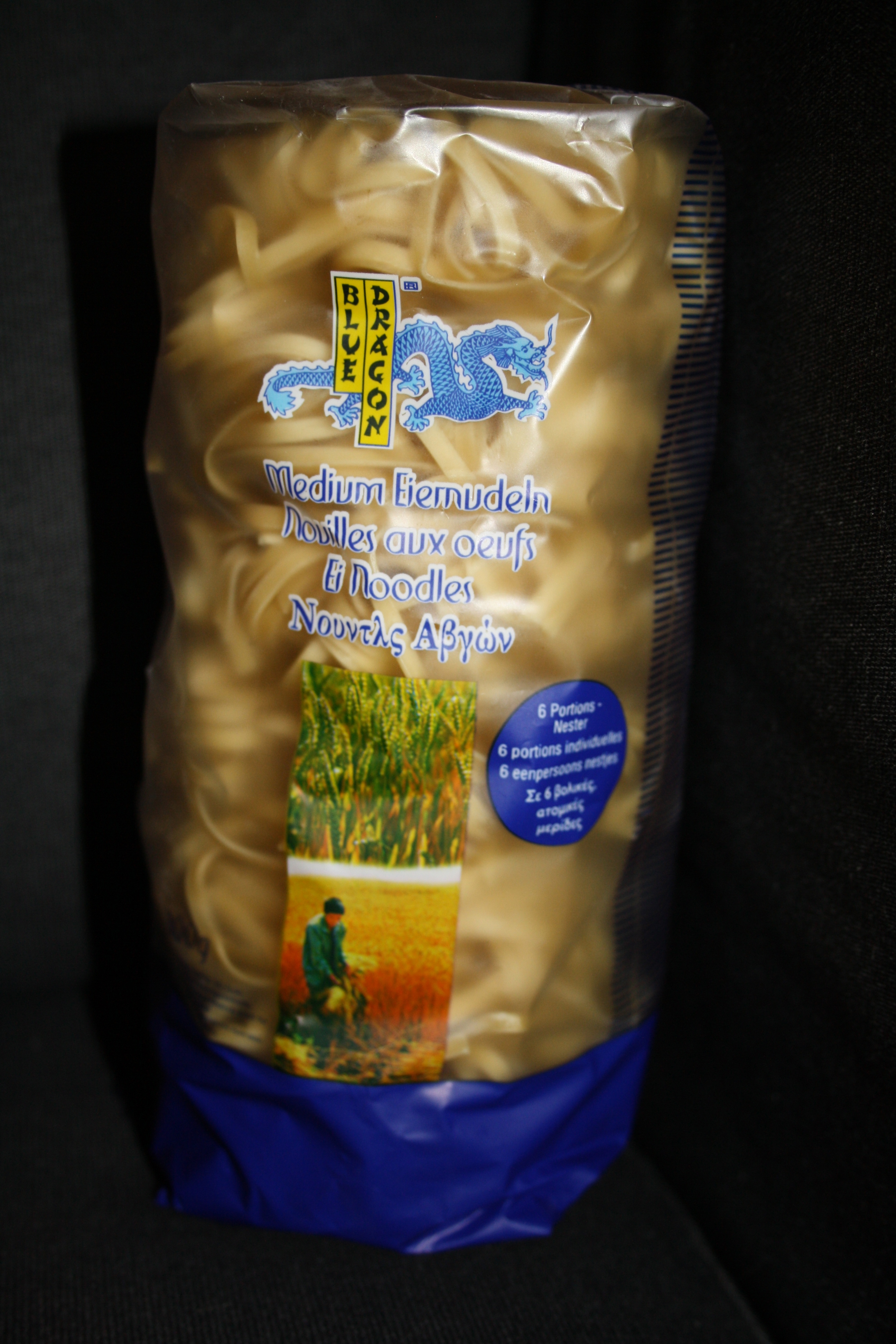 Des nouilles chinoises