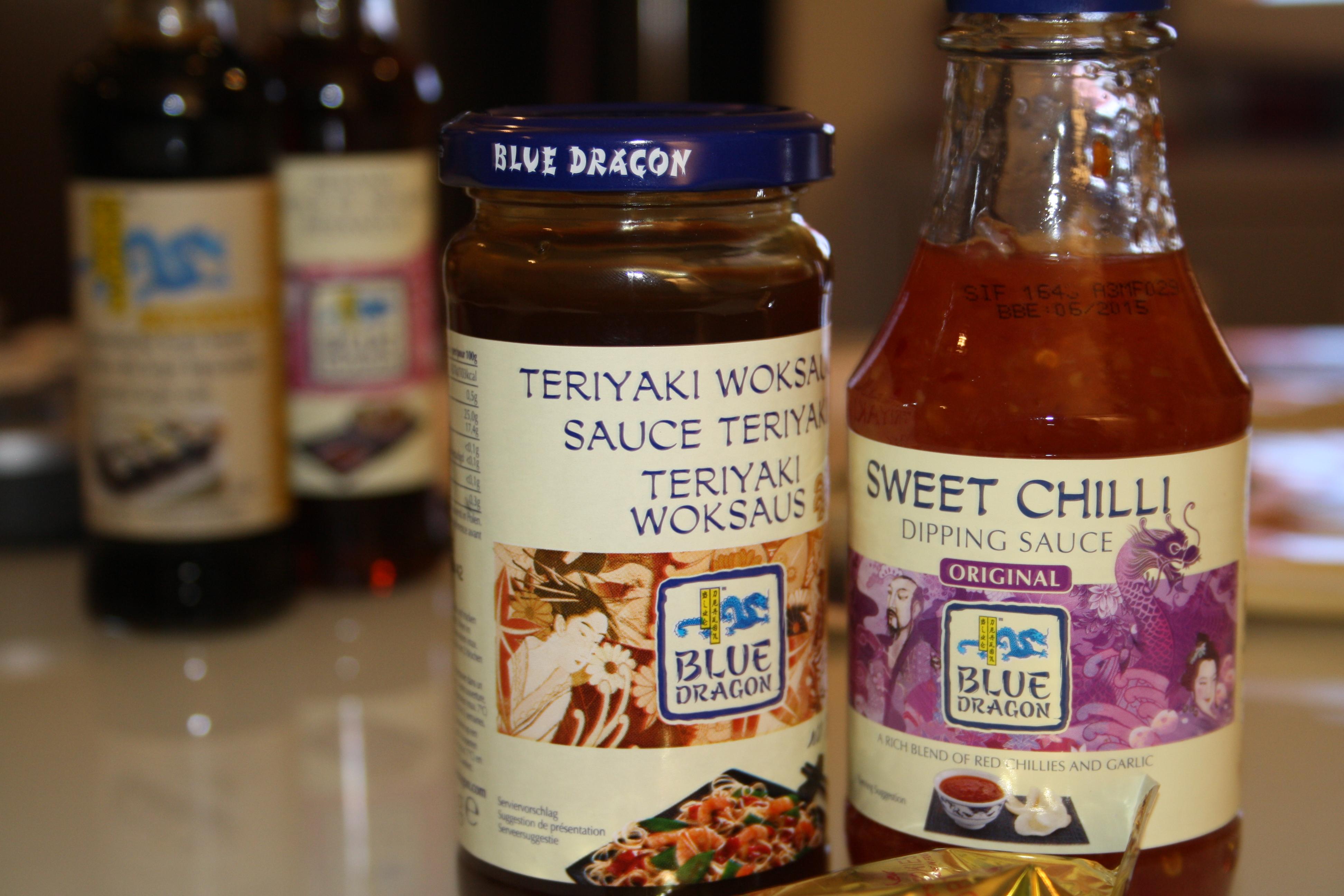 Sauce Teriyaki et Sauce Chilli