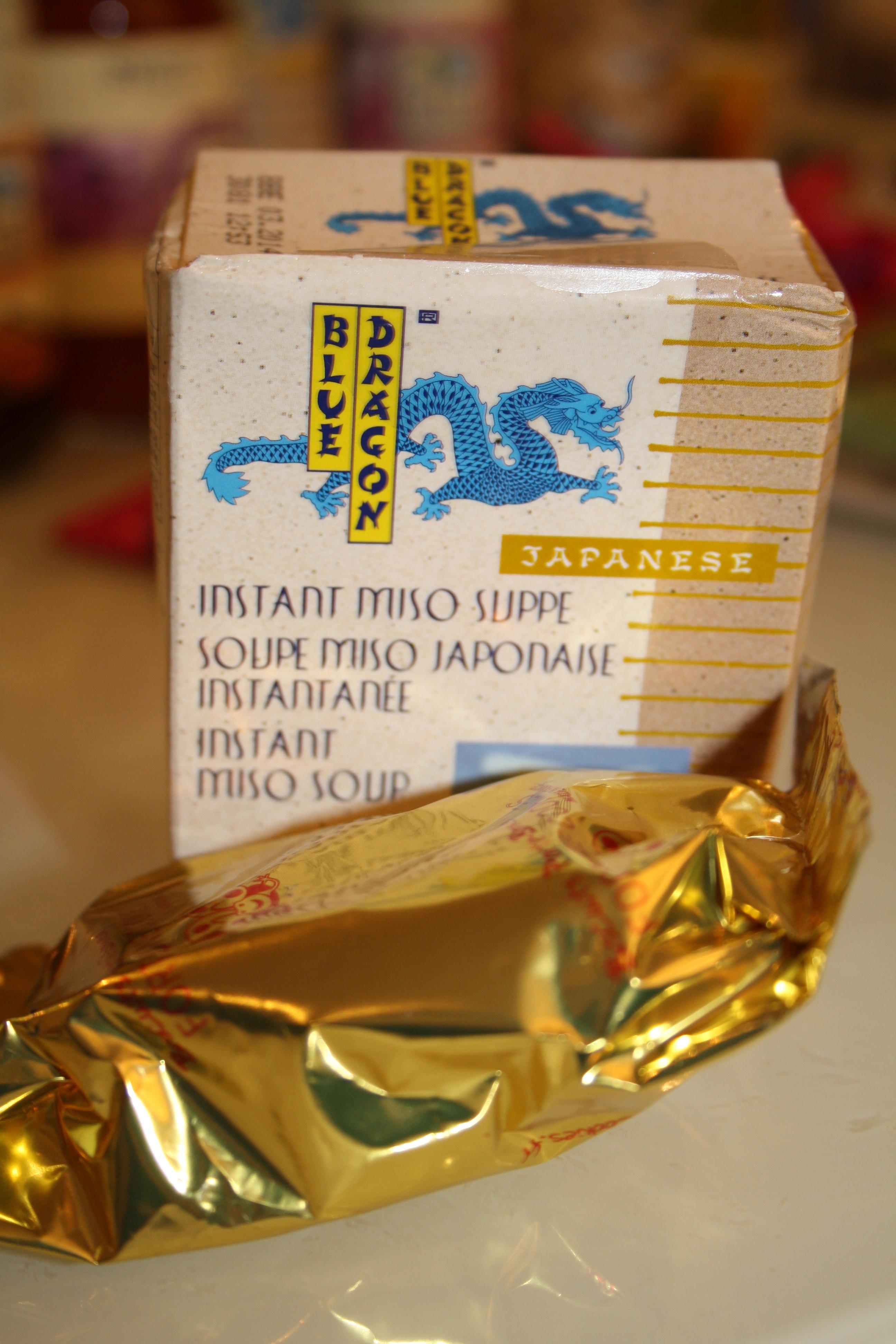 Soupe Miso japonaise et Cookies japonais