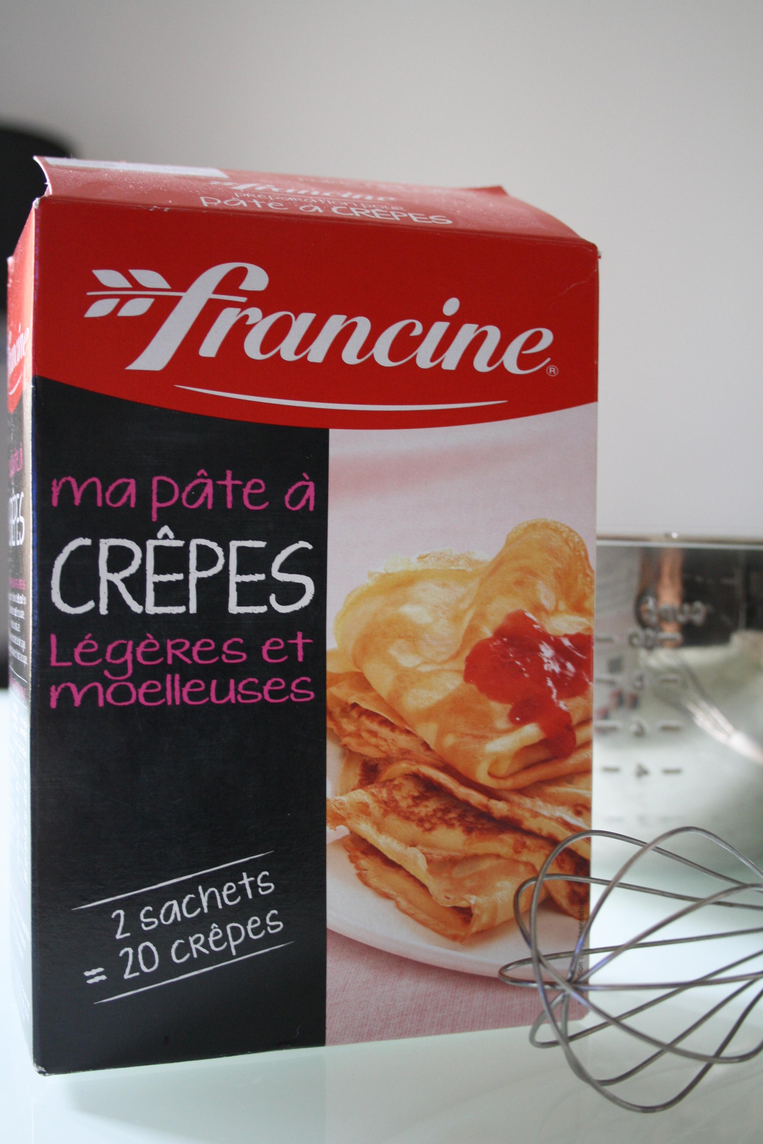 Crêpes Francine - Mathilde et Gourmandises