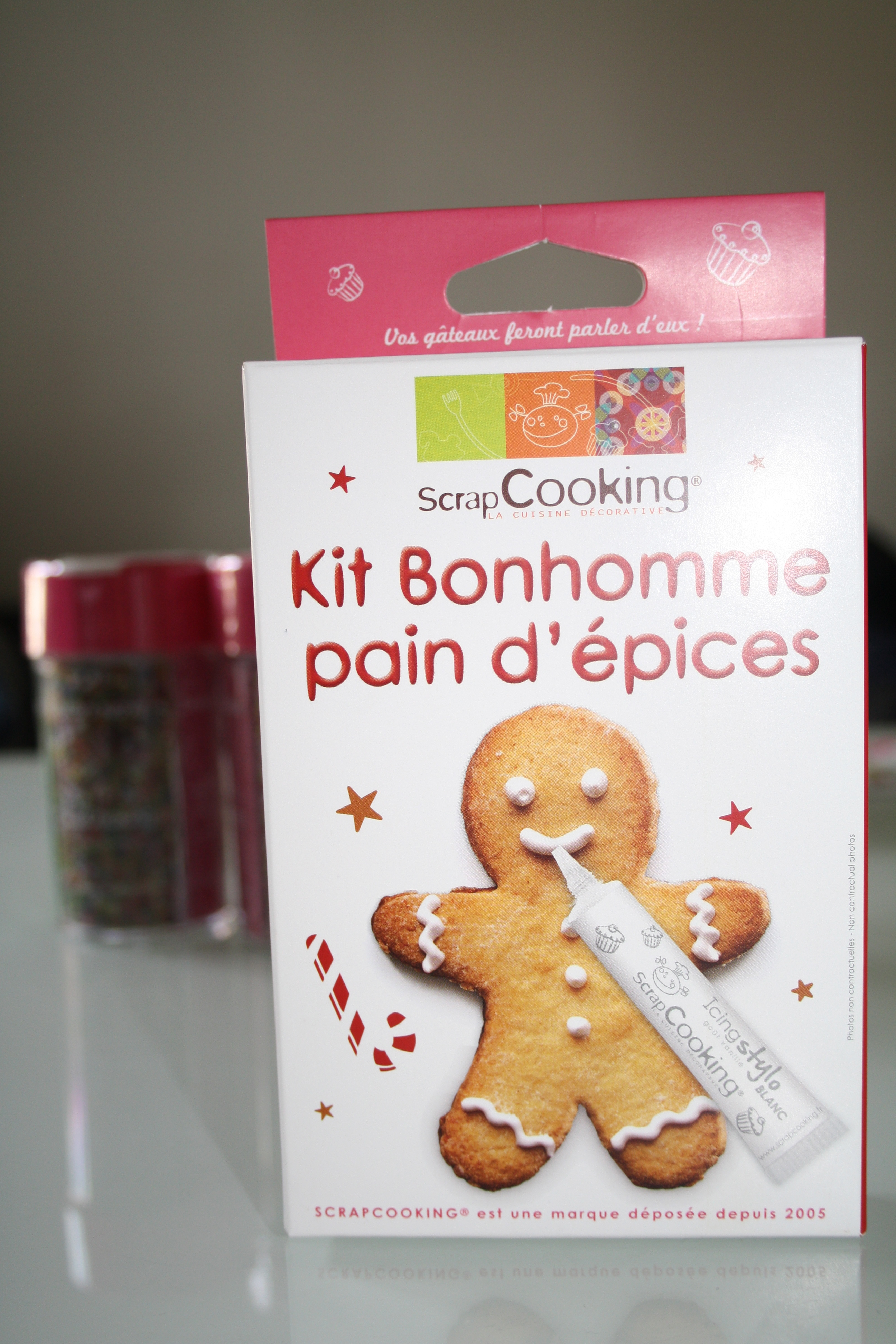 """""""Kit Bonhomme"""" pour mes futurs pain d'épices de Noël"""