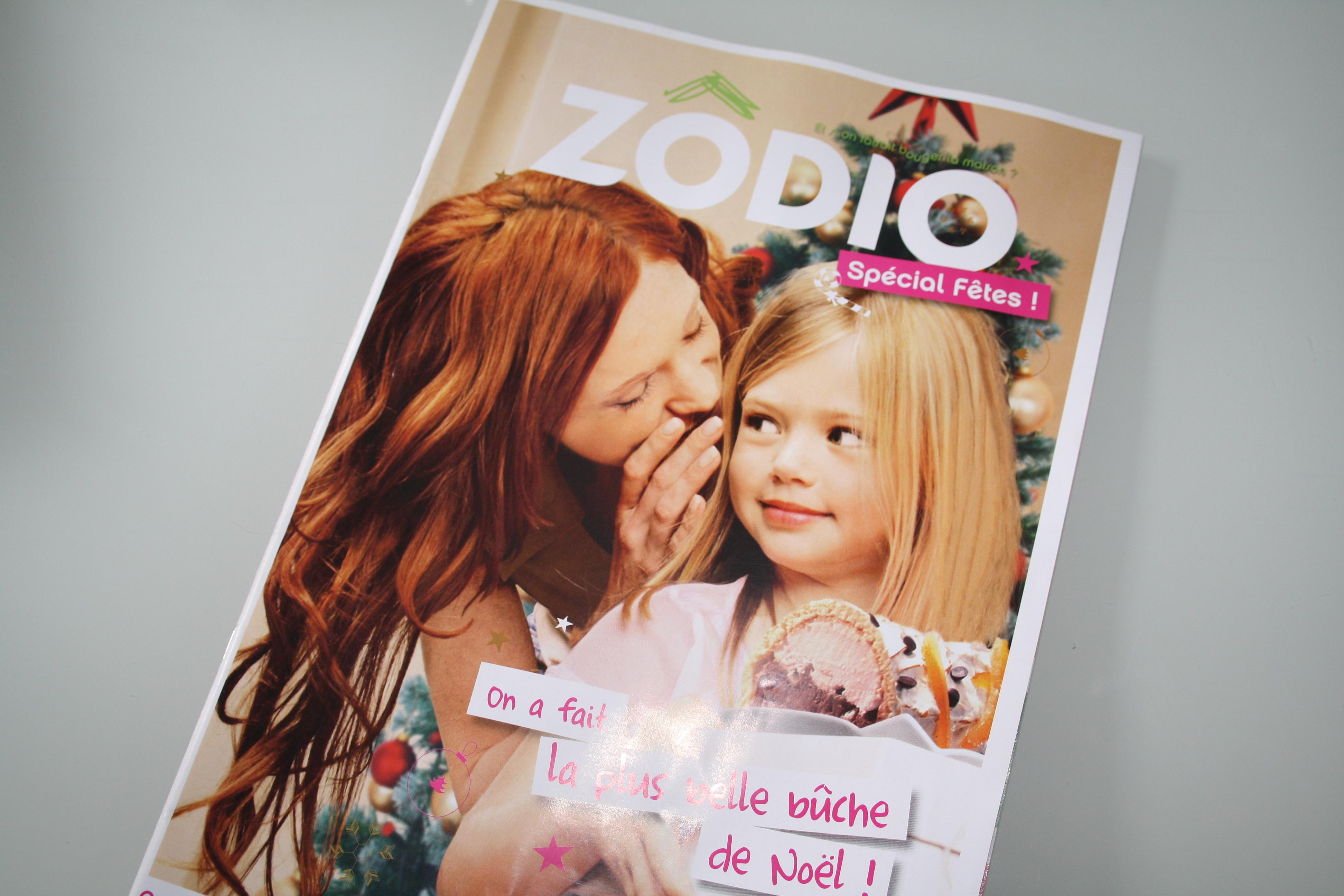 Le Magazine ZODIO pour mes futurs achats et mes inspiration pour Noël