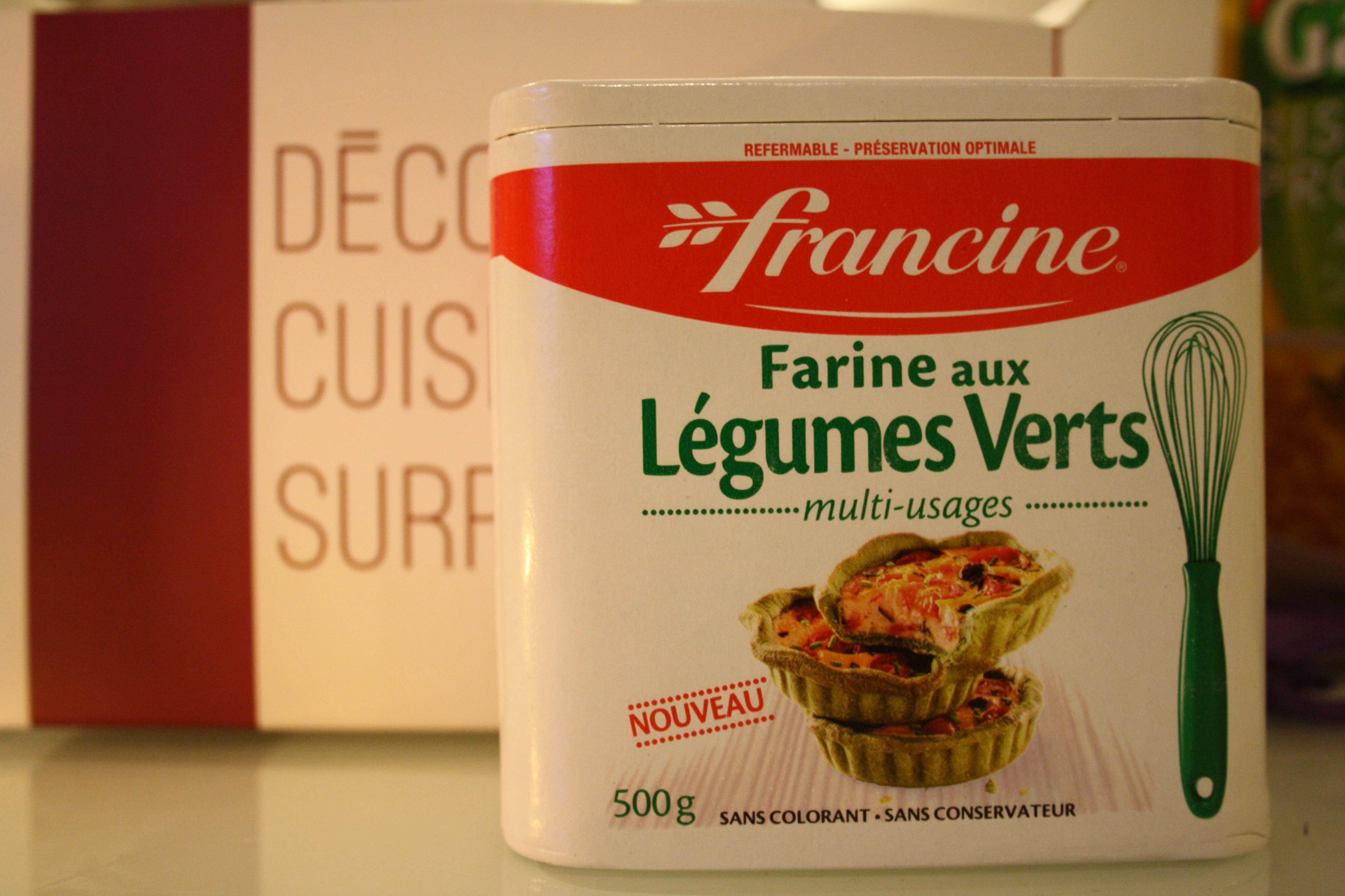 Farine aux Légumes verts - Francine