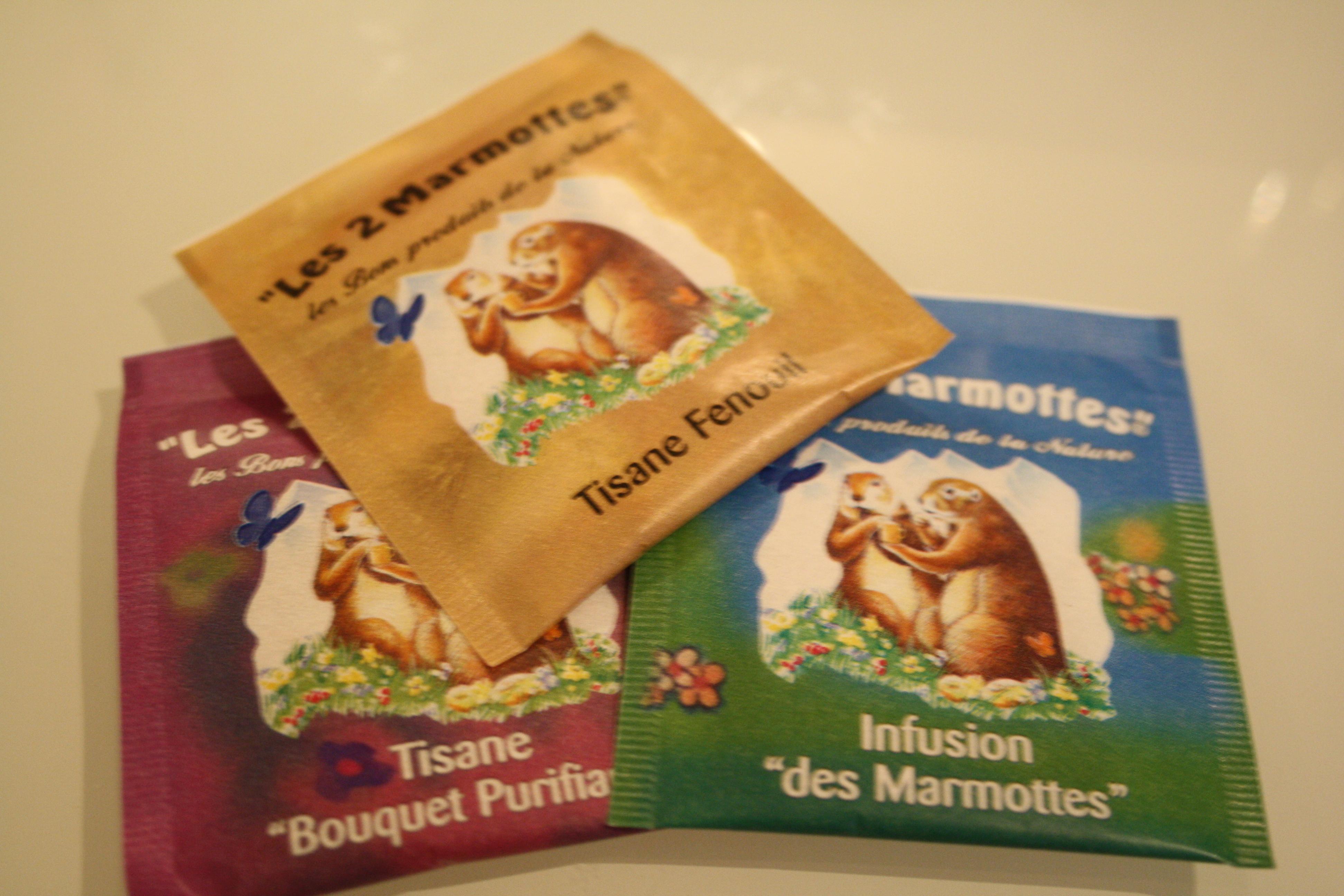 """Tisane """"Les 2 Marmottes"""""""