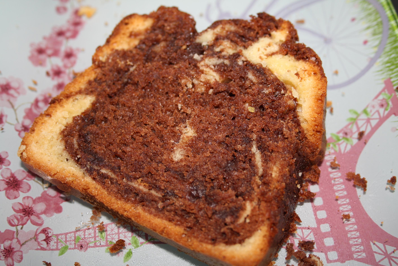 Cake marbré Nutella - Mathilde et Gourmandises