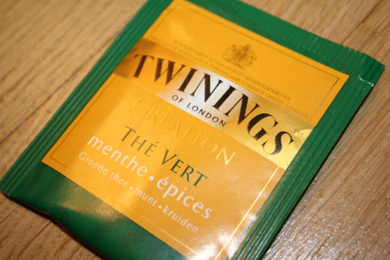 Sachet de thé vert Twinings
