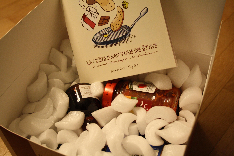 Eat Your Box spécial Chandeleur - Janvier