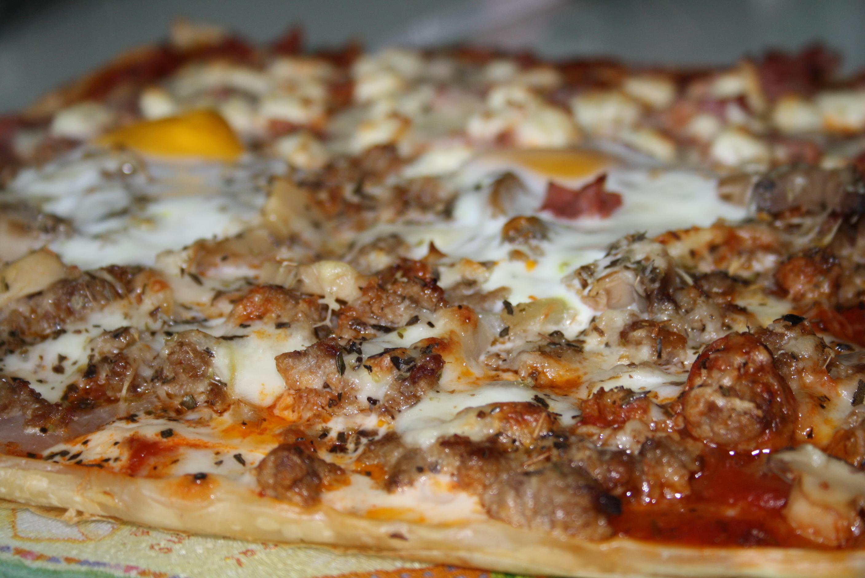 Pizza bi-goût - Mathilde et Gourmandises