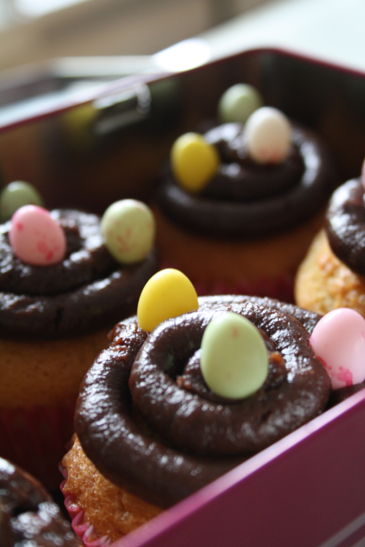 Cupcakes de Pâques - Mathilde et Gourmandises