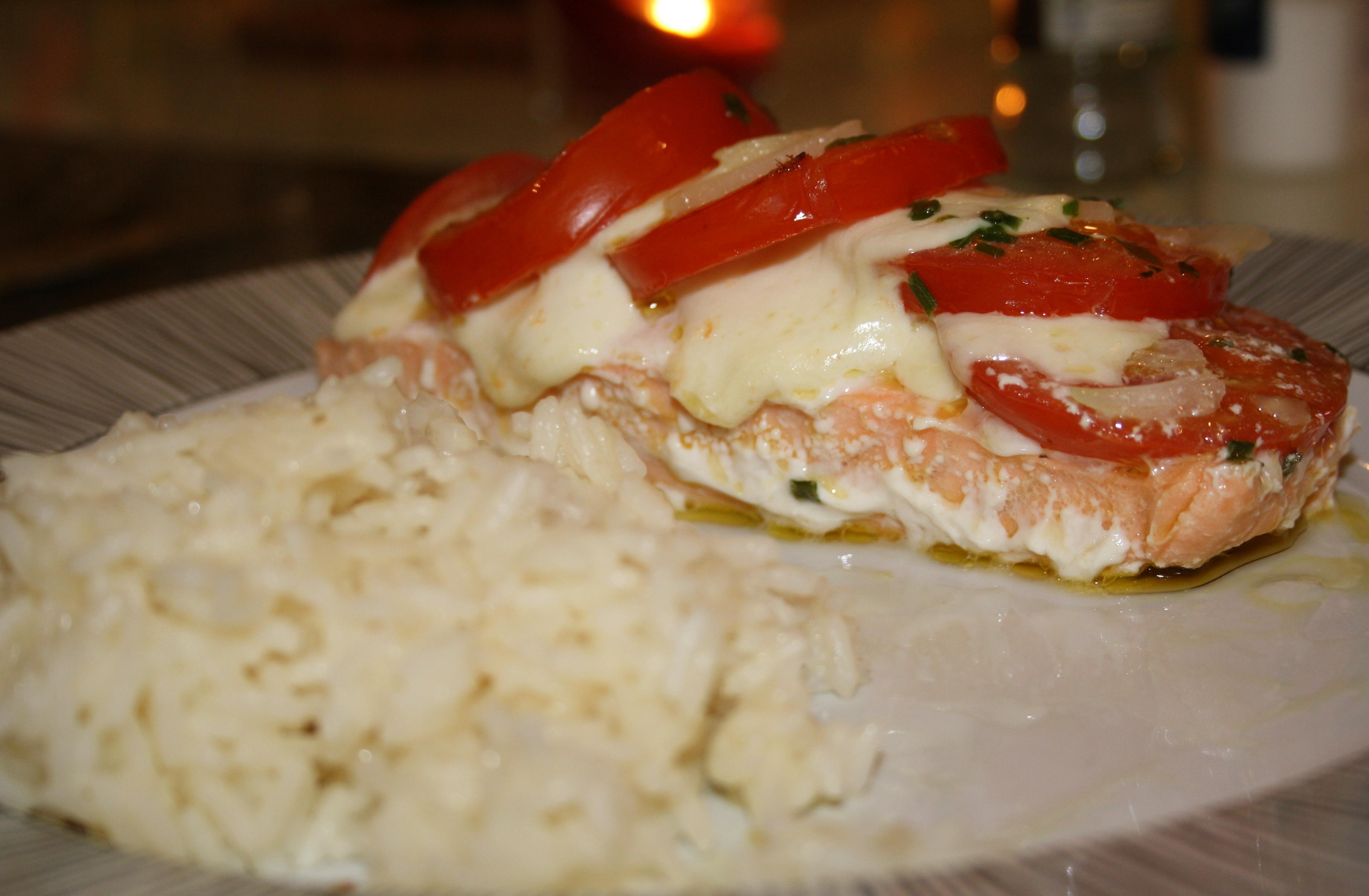 Saumon Mozzarella Tomate - Mathilde et Gourmandises 3