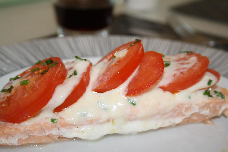Saumon Mozzarella Tomate - Mathilde et Gourmandises