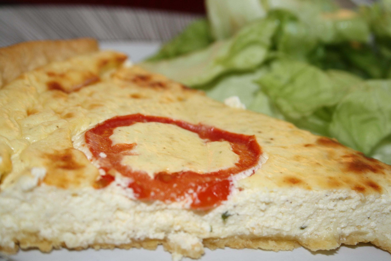 Tarte Fromage frais tomates - Mathilde et Gourmandises