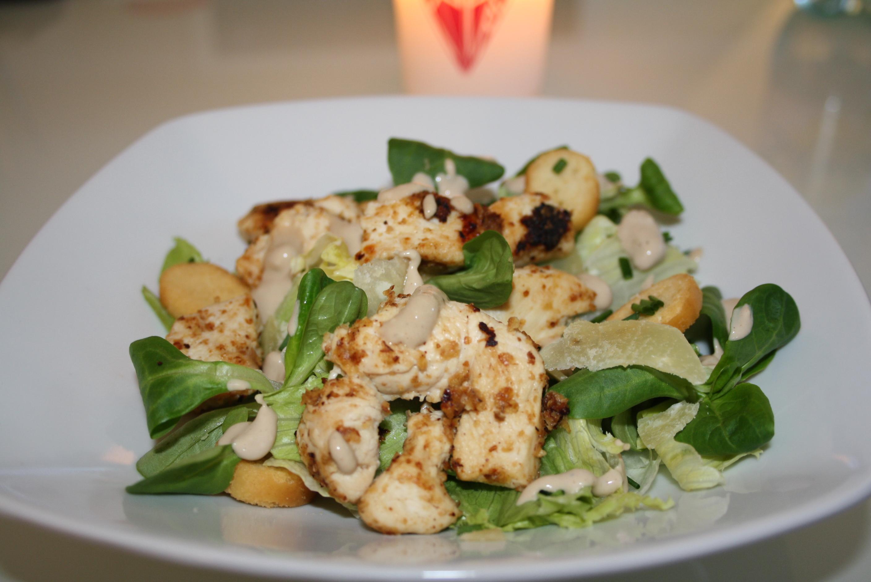 Salade César - Mathilde et Gourmandises