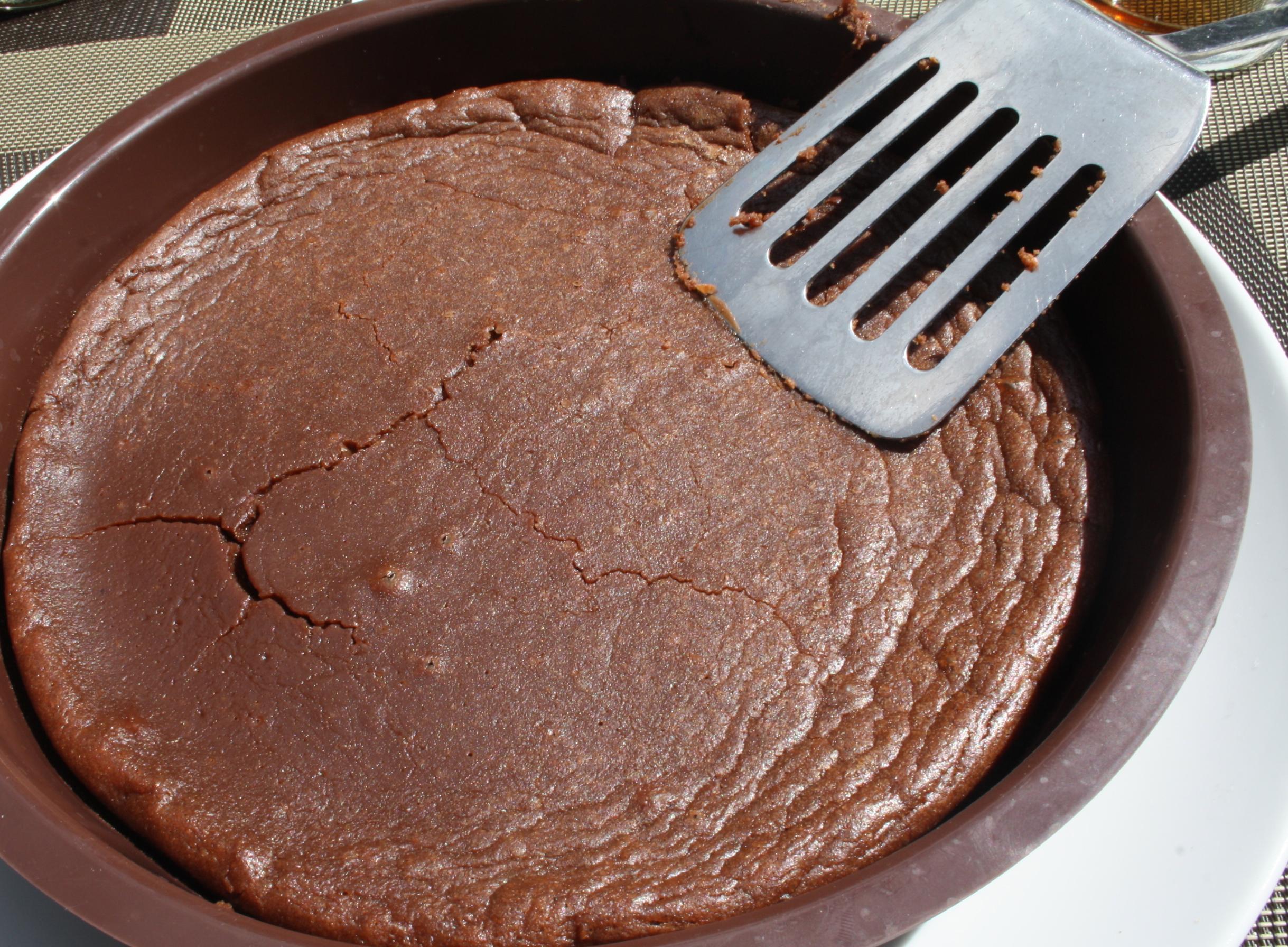 Fondant la cr me de marrons et au chocolat mathilde et - Fondant chocolat creme de marron ...