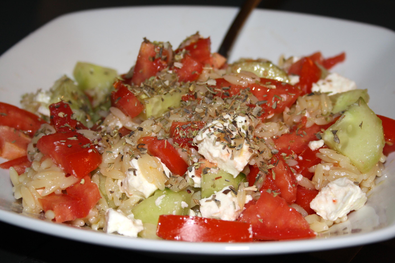 Salade grecque - Mathilde et Gourmandises 1
