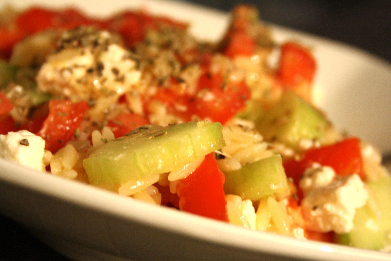 Salade grecque - Mathilde et Gourmandises 4