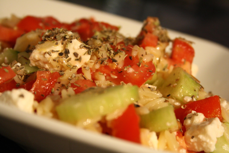 Salade grecque - Mathilde et Gourmandises 5