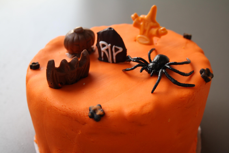 Gateau marbré Halloween - Mathilde et Gourmandises