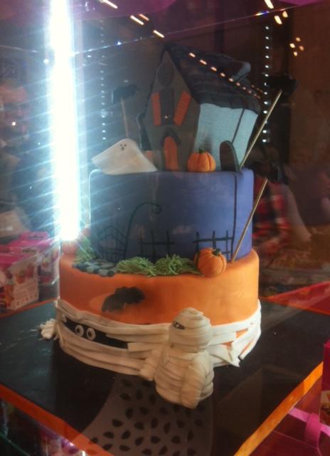 Cake Design d'Halloween - Vahiné