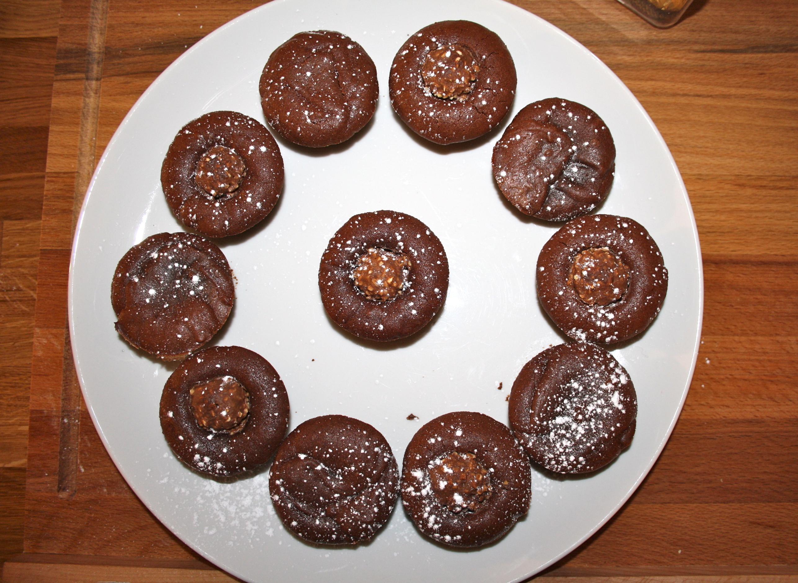 Fondant chocolat Ferrero - Mathilde et Gourmandises2