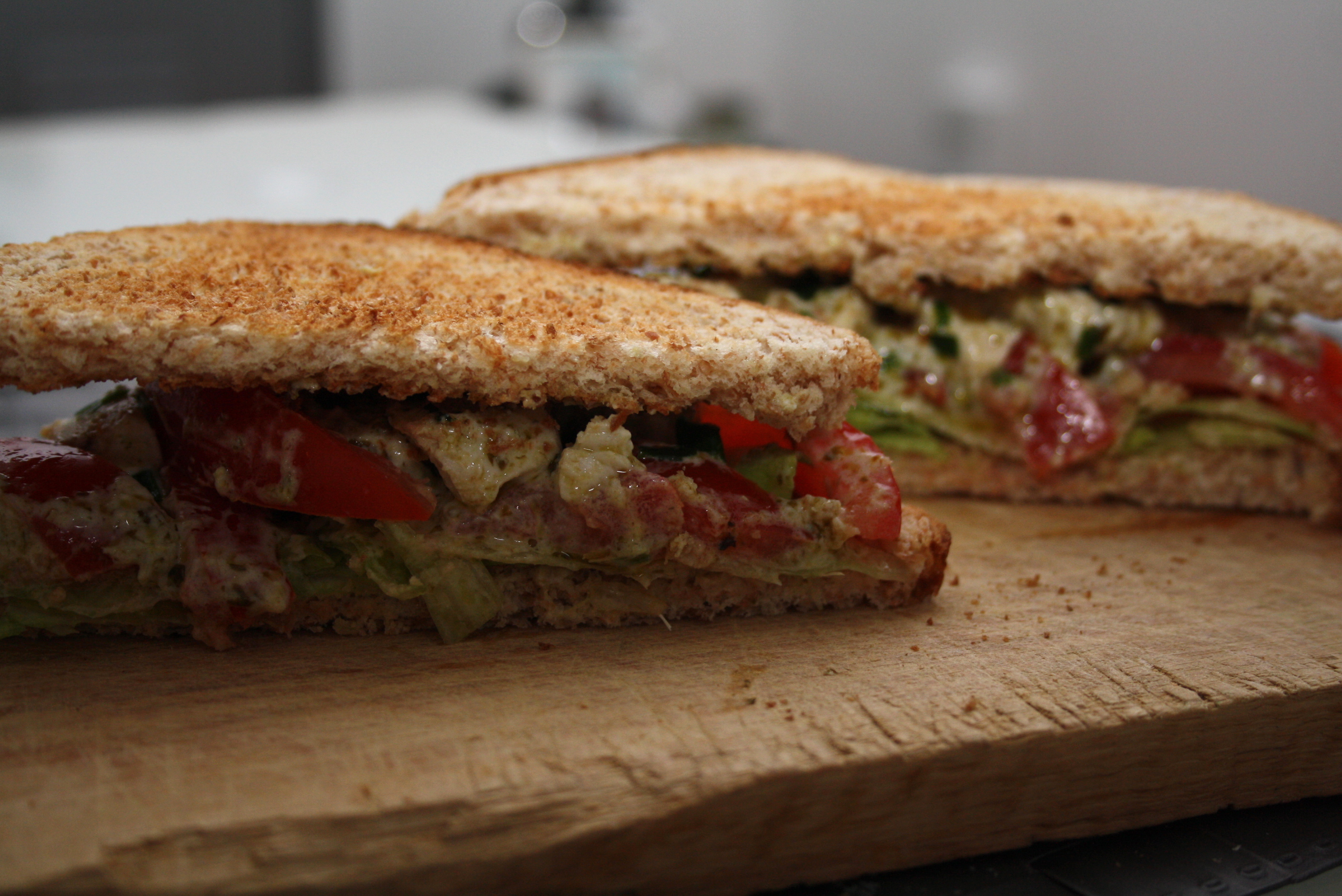 Sandwich Poulet Pesto WW - Mathilde et Gourmandises1