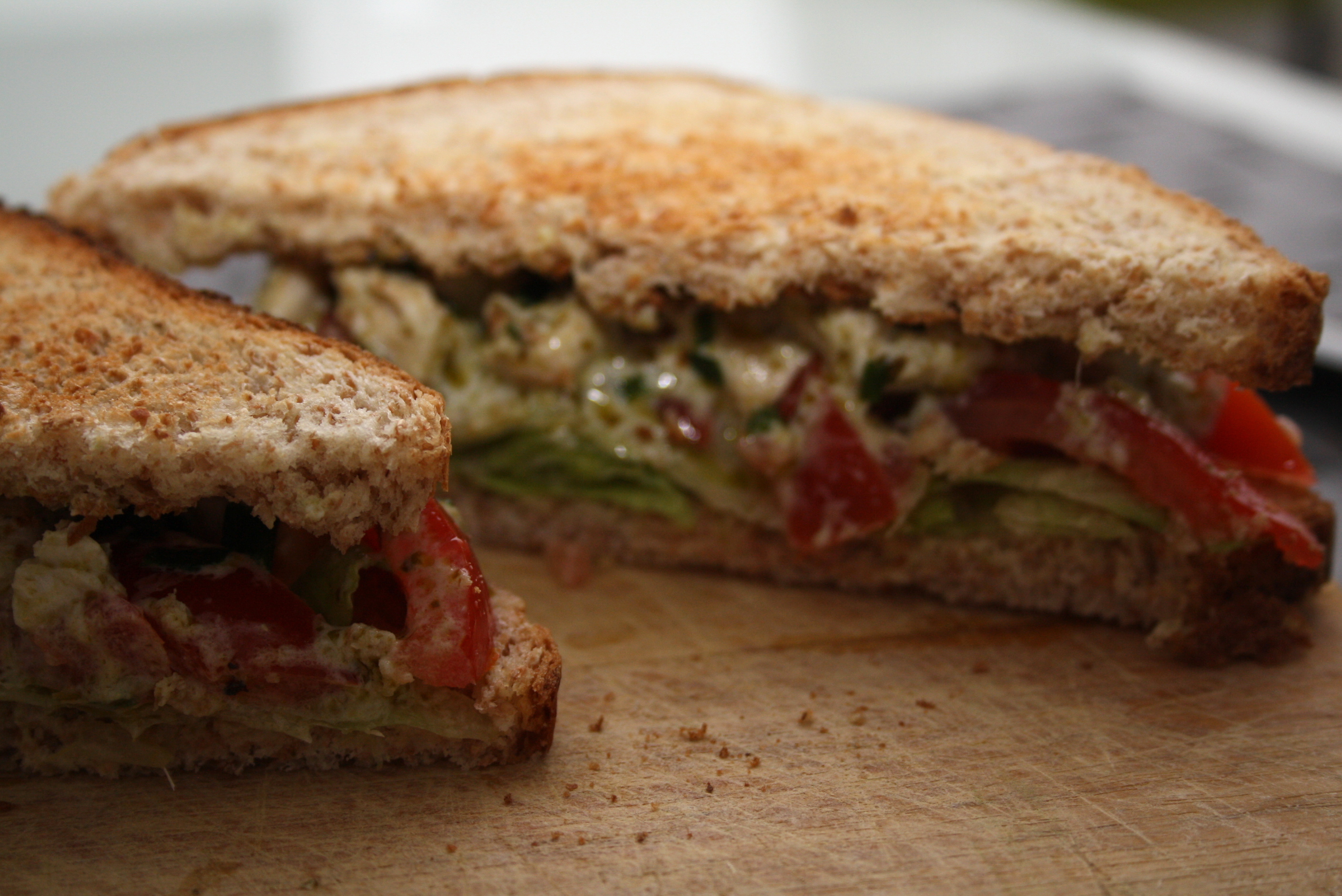 Sandwich Poulet Pesto WW - Mathilde et Gourmandises4