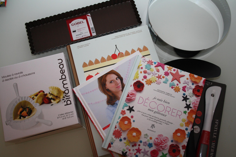 Livre ustensile - Mathilde et Gourmandises