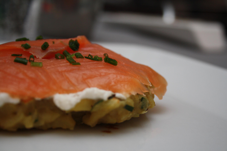 Rosti pomme de terre saumon WW - Mathilde et Gourmandises