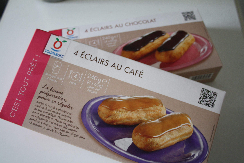 6 Eclairs au Chocolat & 6 Eclairs au Café