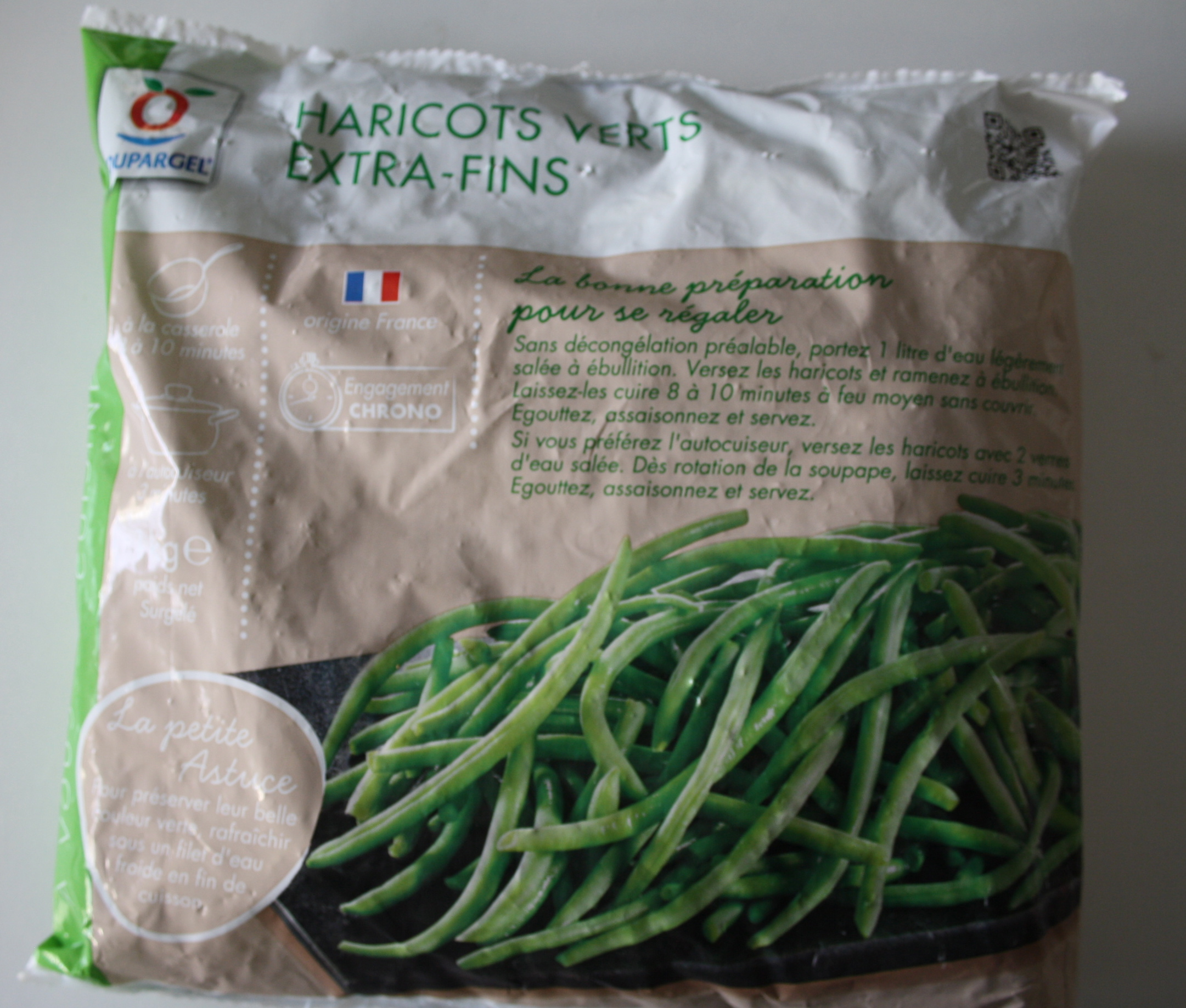 Haricots verts extra-fins - 3€ le kilo