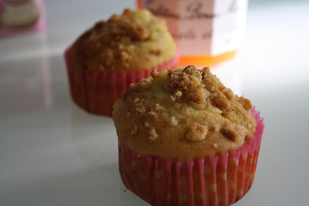 Muffin abricot peche caramel - Mathilde et Gourmandises1