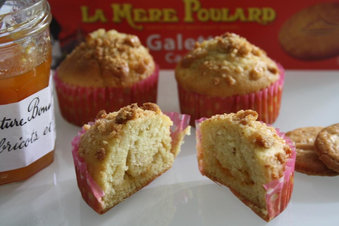 Muffin abricot peche caramel - Mathilde et Gourmandises2