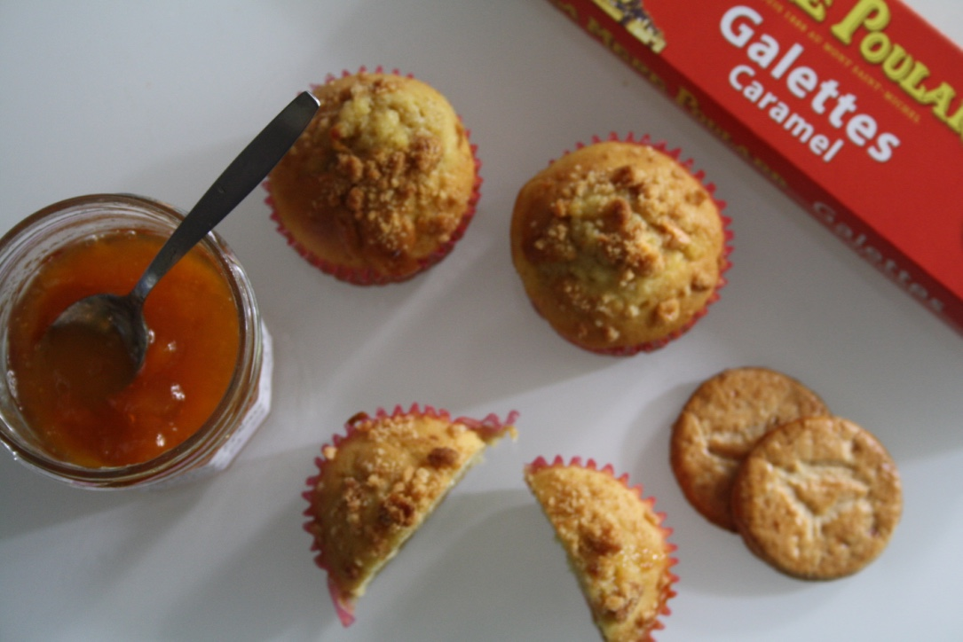 Muffin abricot peche caramel - Mathilde et Gourmandises3