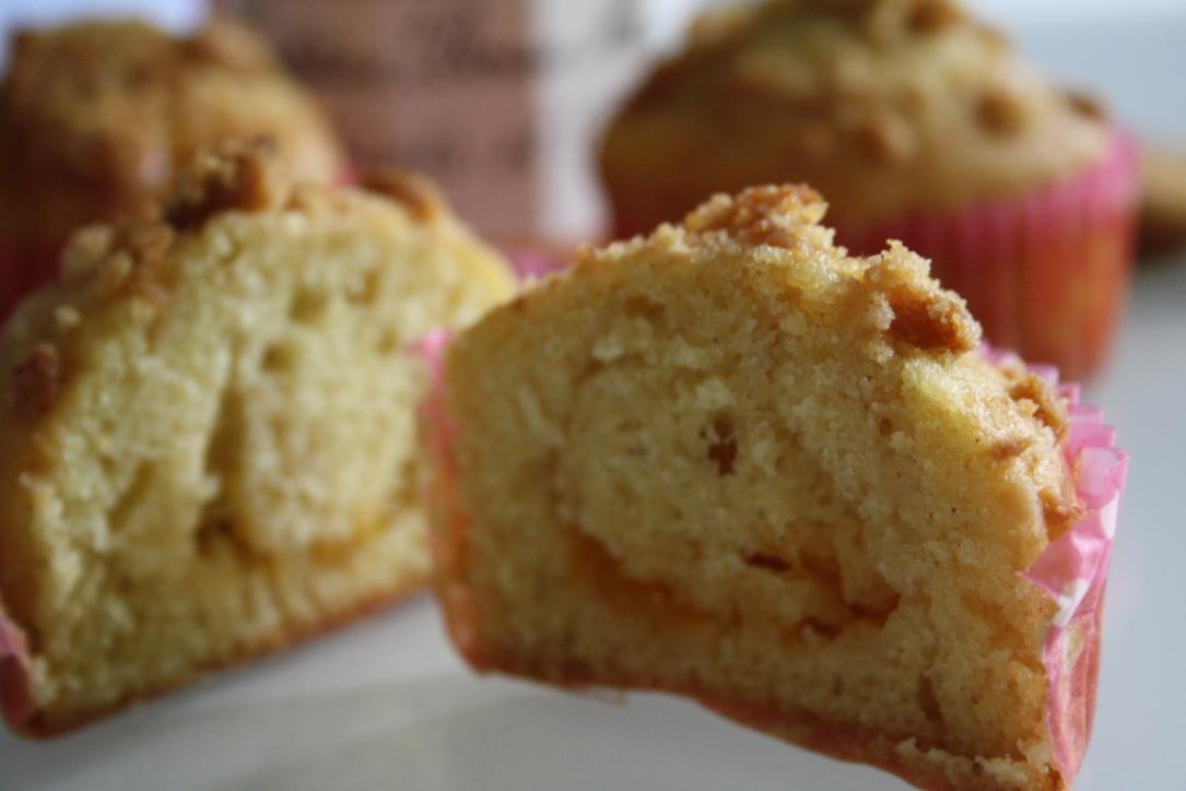Muffin abricot peche caramel - Mathilde et Gourmandises4