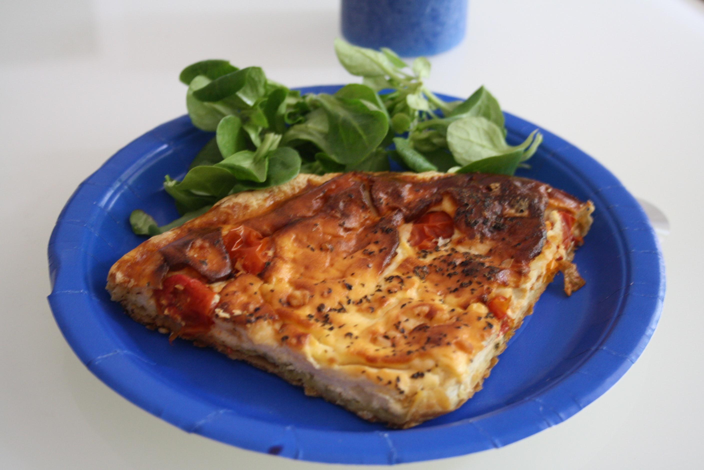 Tarte Pesto Tomates - Mathilde et Gourmandises