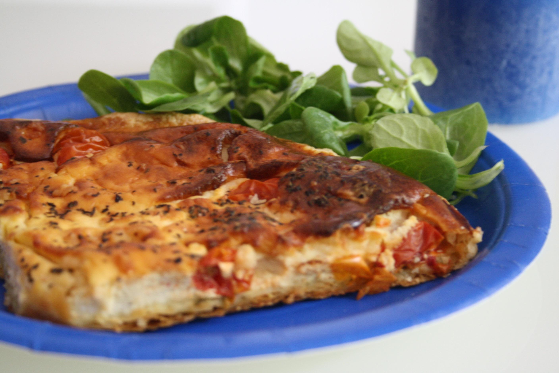 Tarte Pesto Tomates - Mathilde et Gourmandises1