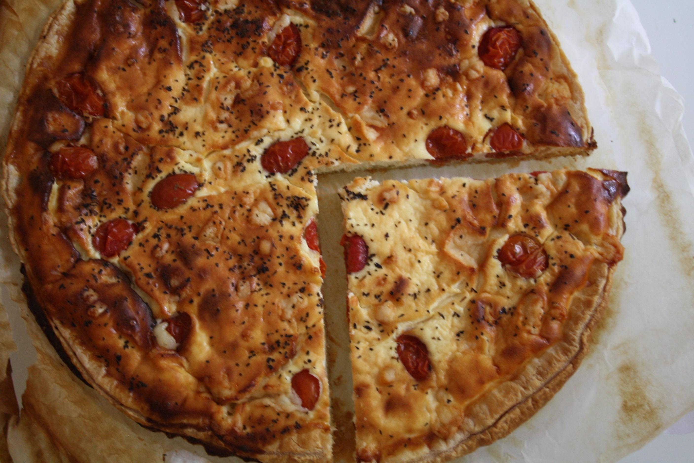 Tarte Pesto Tomates - Mathilde et Gourmandises2