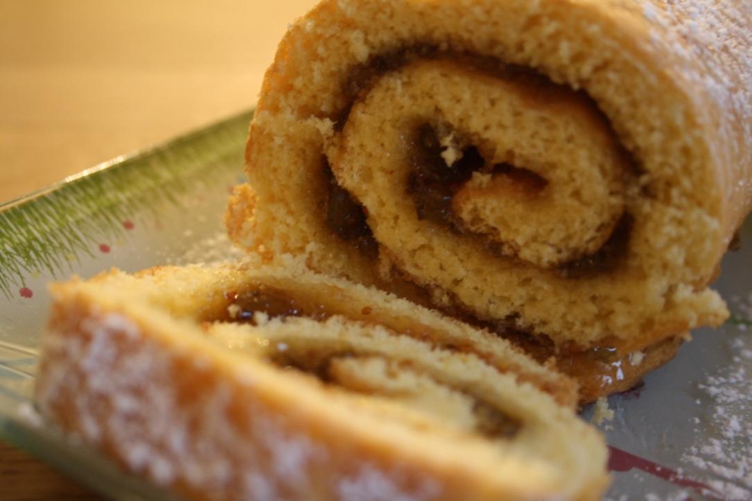 Gâteau roulé confiture - Mathilde et Gourmandises