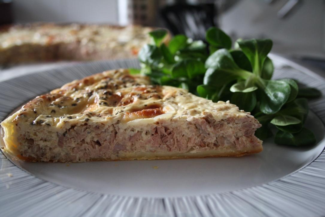 Quiche Thon Mozarella - Mathilde et Gourmandises