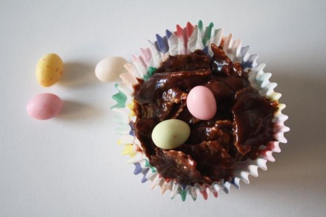 Petits Nids Chocolat Pâques - Mathilde et Gourmandises