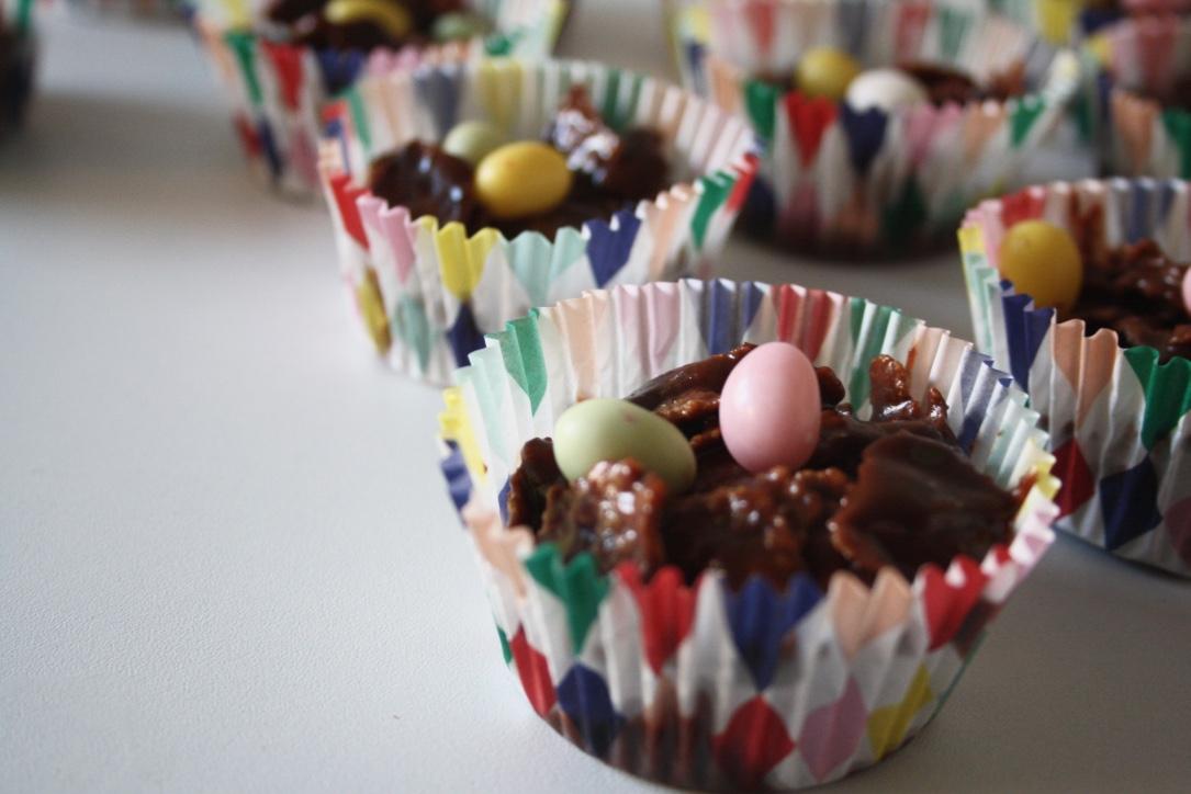 Petits Nids Chocolat Pâques - Mathilde et Gourmandises1