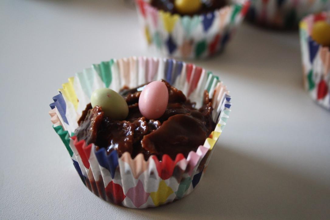 Petits Nids Chocolat Pâques - Mathilde et Gourmandises2